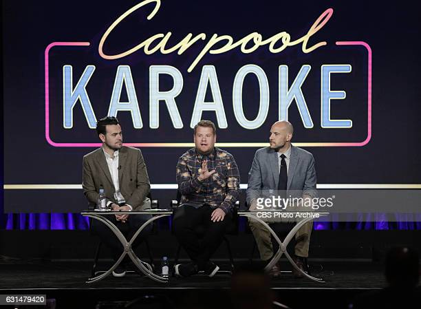 The cast and Executive Producers of the CBS series CARPOOL KARAOKE at the TCA Winter Press Tour 2017 on Monday January 9, 2017 at the Langham...