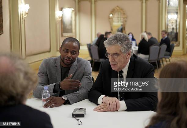 The cast and Executive Producers of the CBS series DOUBT participate in a roundtable discussion at the TCA Winter Press Tour 2017 on Monday January 9...