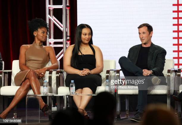 The cast and executive producers of the CBS series THE RED LINE at the TCA WINTER PRESS TOUR 2019 on Wednesday January 30 2019 at the Langham...