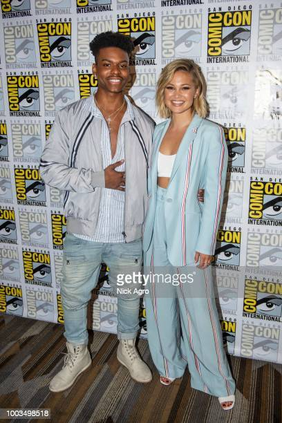 S CLOAK DAGGER The cast and executive producers of the Freeforms criticallyacclaimed series Marvels Cloak Dagger attend 2018 San Diego ComicCon AUBREY