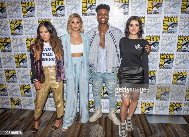 S CLOAK DAGGER The cast and executive producers of the Freeforms criticallyacclaimed series Marvels Cloak Dagger attend 2018 San Diego ComicCon ALLY