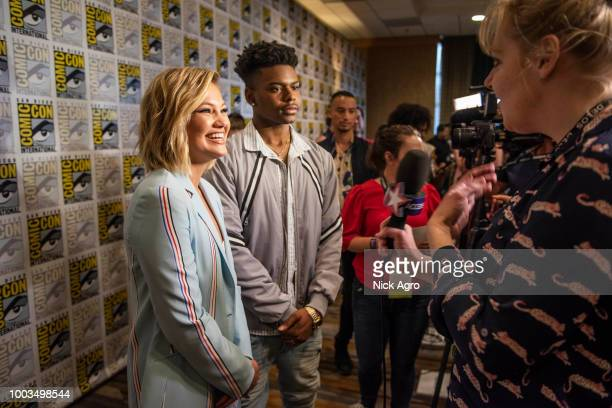 S CLOAK DAGGER The cast and executive producers of the Freeforms criticallyacclaimed series 'Marvels Cloak Dagger' attend 2018 San Diego ComicCon...