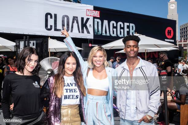 S CLOAK DAGGER The cast and executive producers of the Freeforms criticallyacclaimed series 'Marvels Cloak Dagger' attend 2018 San Diego ComicCon EMMA
