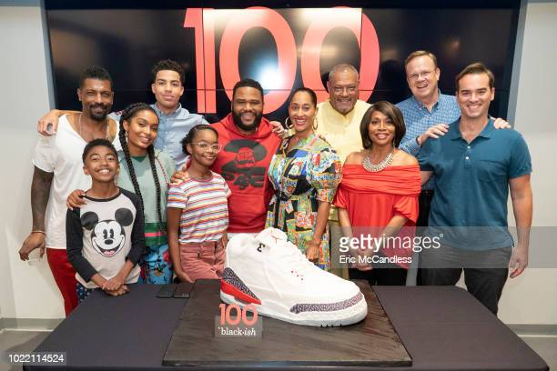 ISH The cast and Executive Producers of Walt Disney Television via Getty Images's blackish along with Walt Disney Television via Getty Images...