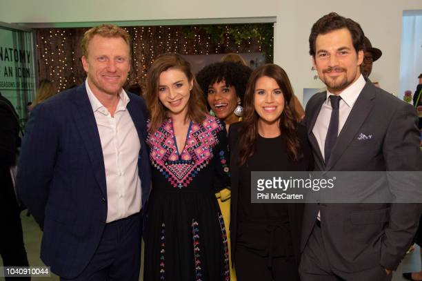 S ANATOMY The cast and executive producers of Walt Disney Television via Getty Images's Grey's Anatomy celebrate the recordbreaking 15th season at...