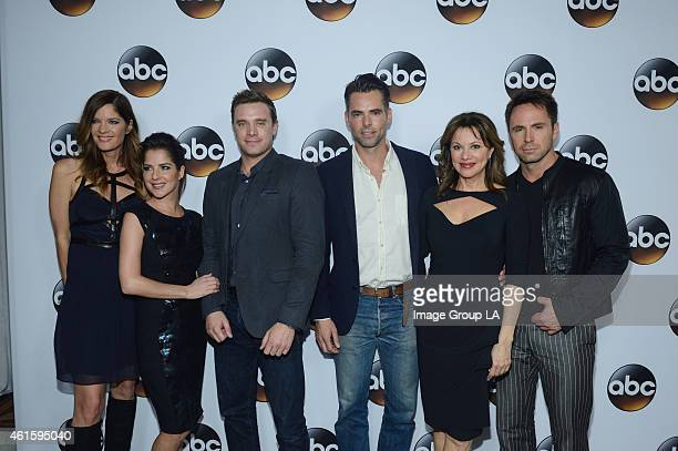 The cast and executive producers of Walt Disney Television via Getty Images series graced the carpet at Disney | Walt Disney Television via Getty...
