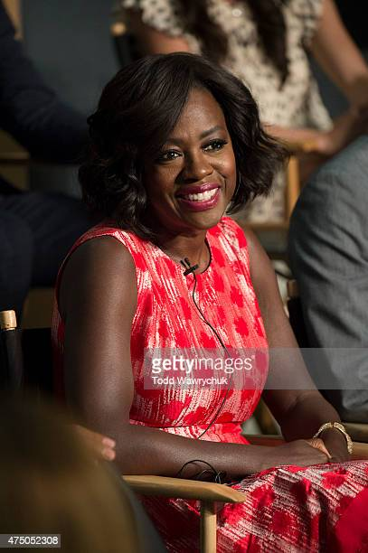 MURDER The cast and executive producers of Walt Disney Television via Getty Images's hit series How To Get Away With Murder attended The Academy of...