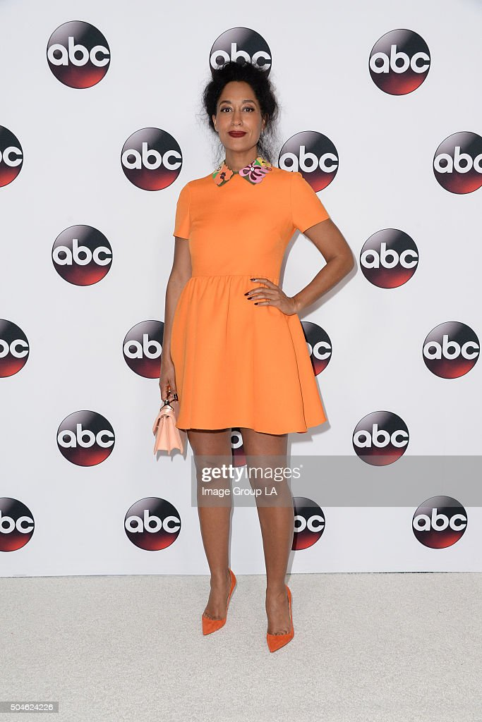 TOUR 2016 - The cast and executive producers of ABC series graced the carpet at Disney | ABC Television Group's Winter Press Tour 2016. TRACEE