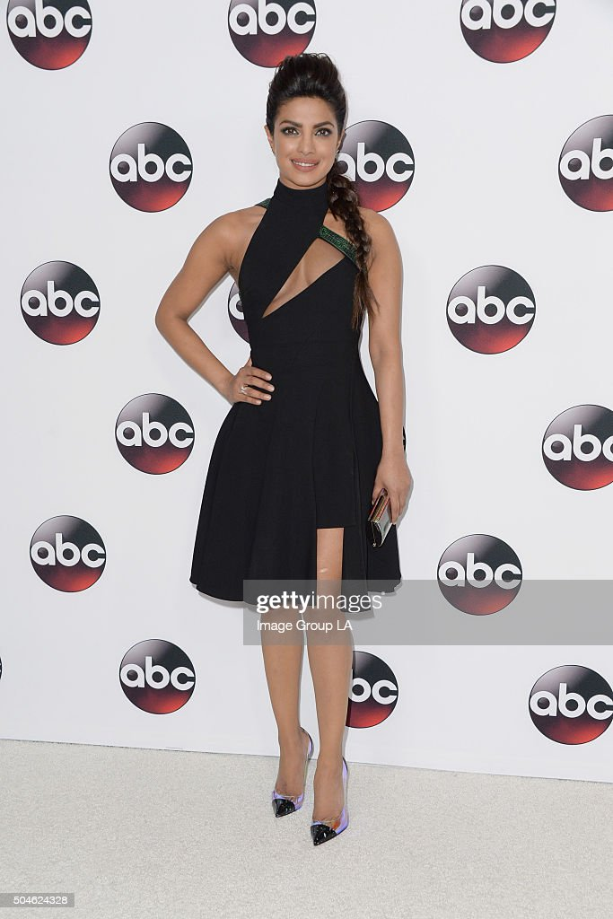 TOUR 2016 - The cast and executive producers of ABC series graced the carpet at Disney | ABC Television Group's Winter Press Tour 2016. PRIYANKA
