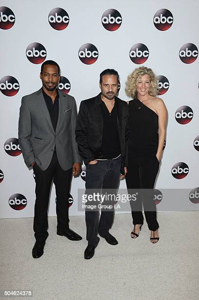 TOUR 2016 The cast and executive producers of ABC series graced the carpet at Disney | ABC Television Group's Winter Press Tour 2016 ANTHONY