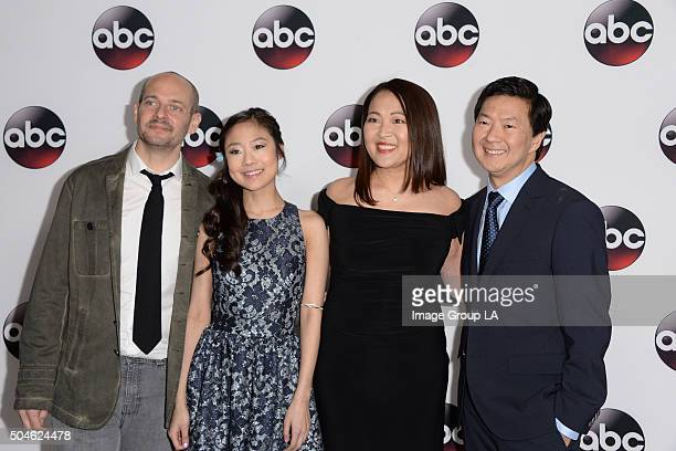TOUR 2016 The cast and executive producers of Walt Disney Television via Getty Images series graced the carpet at Disney | Walt Disney Television via...