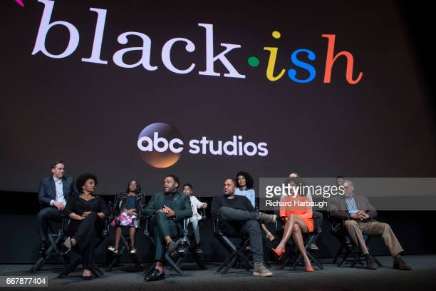 ISH The cast and executive producers of Walt Disney Television via Getty Images's critically acclaimed hit comedy blackish attended the Walt Disney...