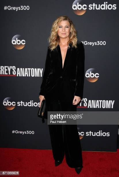 S ANATOMY The Cast and Executive Producers of Walt Disney Television via Getty Images's Grey's Anatomy celebrate the 300th episode at Tao Los Angeles...