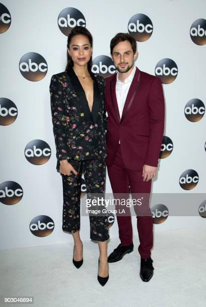 TOUR 2018 The cast and executive producers of Walt Disney Television via Getty Images series graced the carpet at Disney | Walt Disney Television via...