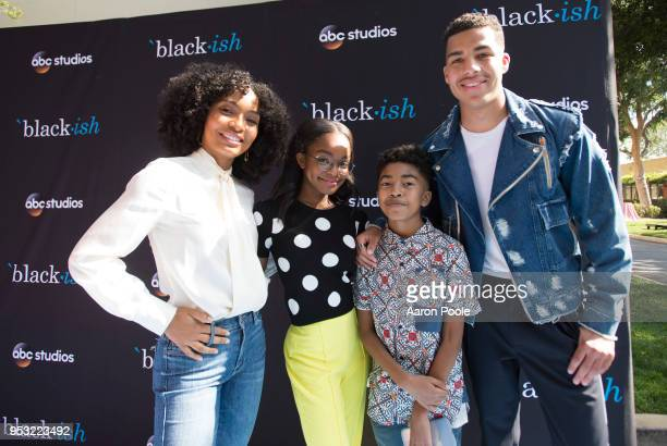 ISH The cast and executive producers of ABC's criticallyacclaimed hit comedy 'blackish' attended the ABC Studios 'For Your Consideration' event at...