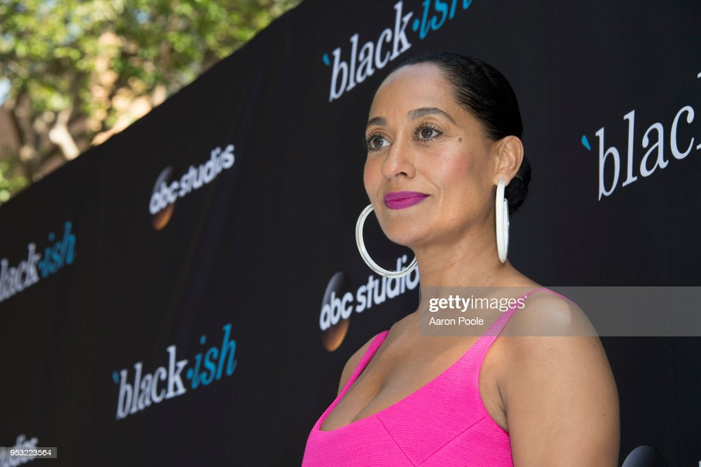 ISH - The cast and executive producers of ABC's critically-acclaimed hit comedy 'black-ish' attended the ABC Studios 'For Your Consideration' event at The Walt Disney Studios in Burbank, CA on Saturday, April 28, 2018. TRACEE