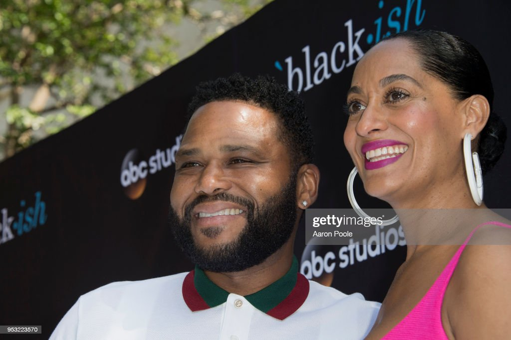 ISH - The cast and executive producers of ABC's critically-acclaimed hit comedy 'black-ish' attended the ABC Studios 'For Your Consideration' event at The Walt Disney Studios in Burbank, CA on Saturday, April 28, 2018. ANTHONY