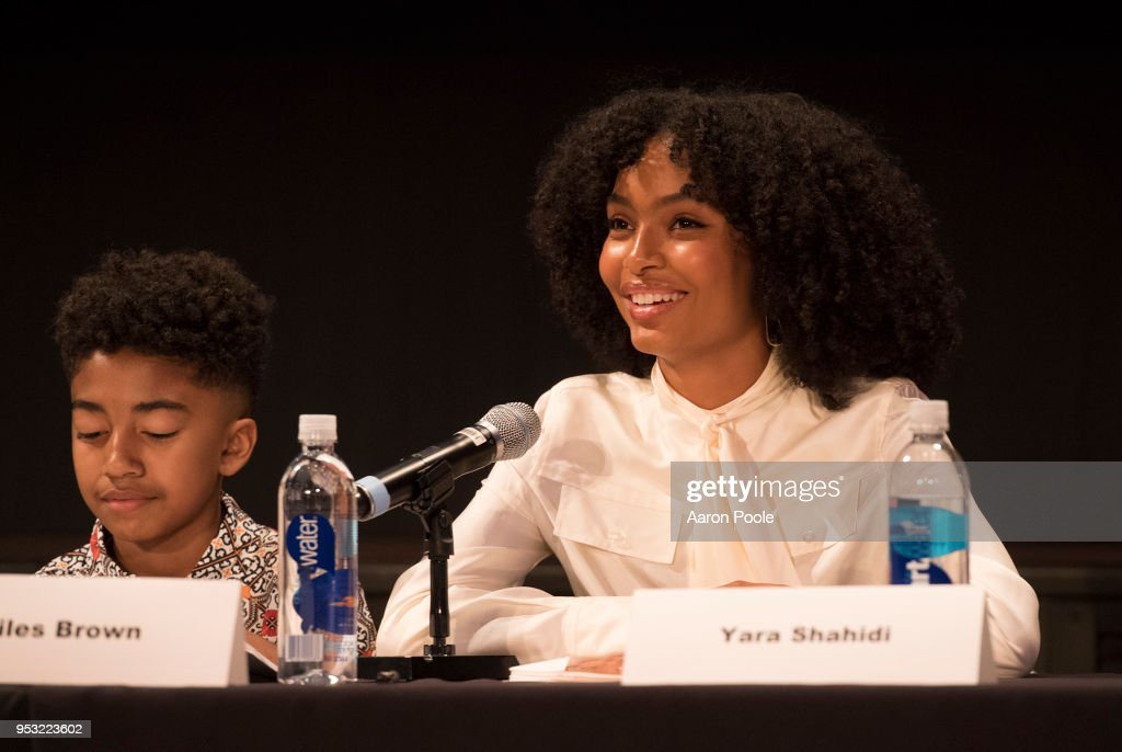 ISH - The cast and executive producers of ABC's critically-acclaimed hit comedy 'black-ish' attended the ABC Studios 'For Your Consideration' event at The Walt Disney Studios in Burbank, CA on Saturday, April 28, 2018. MILES