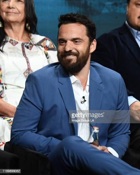 TCA 2019 The cast and producers of ABC's Stumptown address the press at the ABC Summer TCA 2019 at The Beverly Hilton in Beverly Hills California JAKE