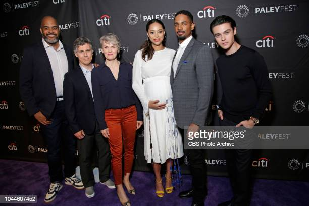 The cast and producers of HAPPY TOGETHER at The Paley Center for Media at PaleyFest Fall TV Previews on Wednesday Sept 12 Pictured Victor Williams...