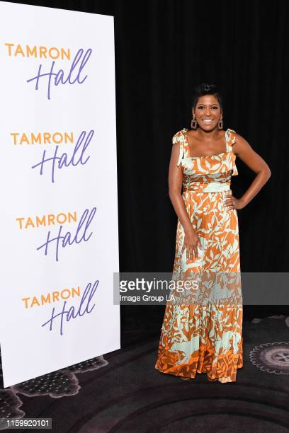 TCA 2019 The cast and producers of syndicated daytime talk show Tamron Hall address the press at the ABC Summer TCA 2019 at The Beverly Hilton in...