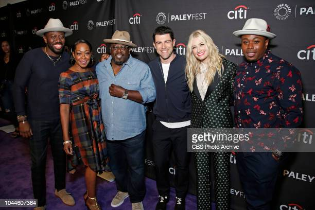 The cast and producers of THE NEIGHBORHOOD at The Paley Center for Media at PaleyFest Fall TV Previews on Wednesday Sept 12 Pictured Sheaun McKinney...