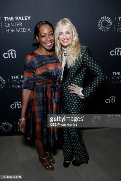 The cast and producers of THE NEIGHBORHOOD at The Paley Center for Media at PaleyFest Fall TV Previews on Wednesday Sept 12 Pictured Tichina Arnold...