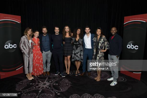 TOUR 2018 The cast and producers of Walt Disney Television via Getty Images's A Million Little Things at the Disney | Walt Disney Television via...
