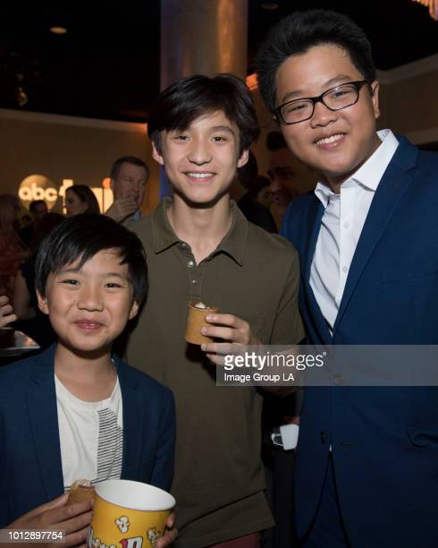 TOUR 2018 The cast and producers of ABC's 'Fresh Off the Boat' and 'Speechless' along with 'Child Support' host Fred Savage at the Disney | ABC...