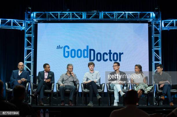 TOUR 2017 The cast and producers of ABC's 'The Good Doctor' at Disney | ABC Television Group's Summer Press Tour 2017 at The Beverly Hilton in...