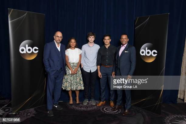 TOUR 2017 The cast and producers of Walt Disney Television via Getty Images's The Good Doctor at Disney | Walt Disney Television via Getty Images...