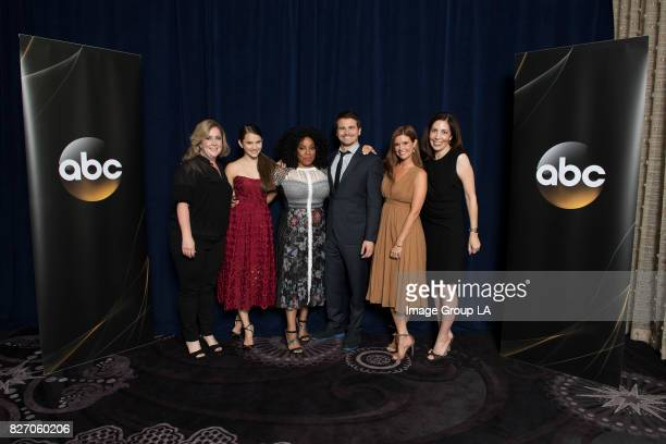TOUR 2017 The cast and producers of ABC's 'Kevin Saves the World' at Disney | ABC Television Group's Summer Press Tour 2017 at The Beverly Hilton in...