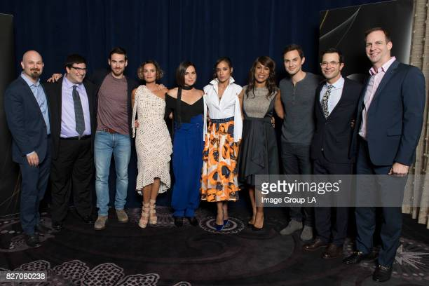 TOUR 2017 The cast and producers of Walt Disney Television via Getty Images's Once Upon a Time at Disney   Walt Disney Television via Getty Images...