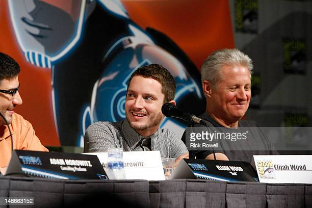 """The cast and production team from Disney XD's """"TRON: Uprising"""" participate in a panel and Q&A session with fans at Comic-Con International in San..."""
