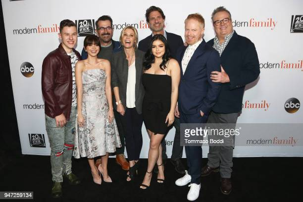 The cast attend the FYC Event For ABC's Modern Family at Avalon on April 16 2018 in Hollywood California