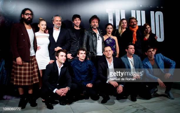 The cast attend 'Tu Hijo' premiere at the Capitol cinema on November 8 2018 in Madrid Spain