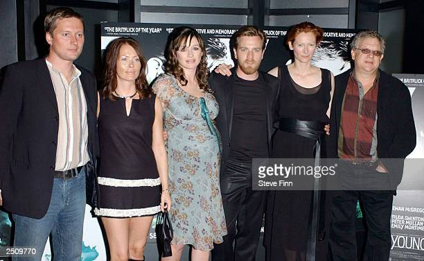 The Cast attends the premiere of ' Young Adam ' at the Warner Village Cinema Leicester Square on September 18 2003 in London