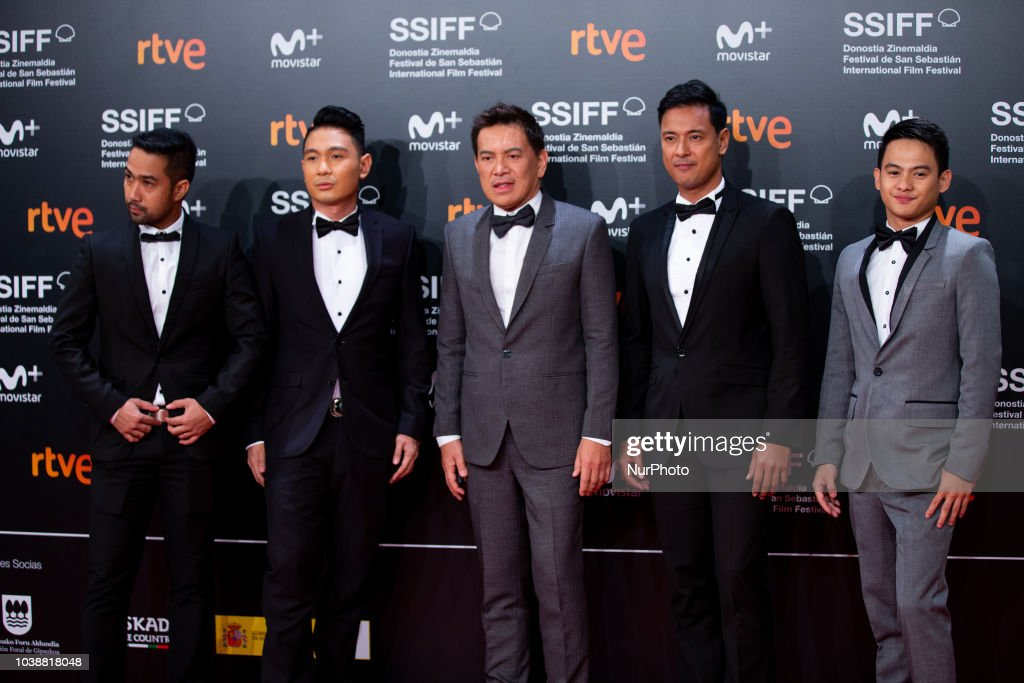 'Alpha, The Right To Kill' Red Carpet - 66th San Sebastian Film Festival