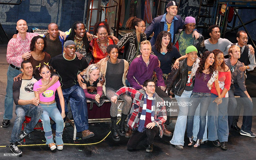 """RENT"" Broadway Closing Night - Arrivals and Curtain Call : News Photo"