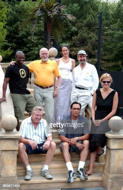 The cast for this summer's Shakespeare in Central Park production of 'Much Ado About Nothing' Clockwise Sean Patrick Thomas Dominic Chianese...