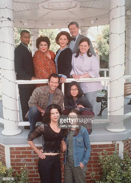 The cast from Warner Bros TV series The Gilmore Girls