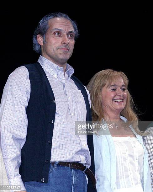 The Cast including Rufus Sewell and Sinead Cusak take their Curtain Call on Opening Night of Tom Stoppards play Rock 'n' Roll on Broadway at The...