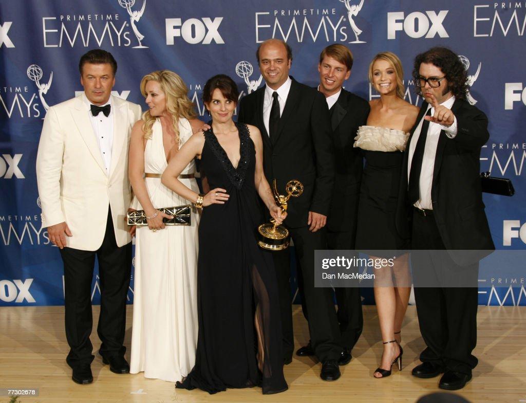 The 59th Primetime EMMY Awards - Press Room : News Photo