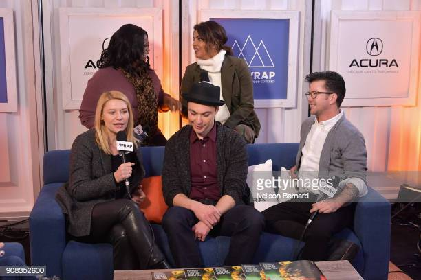 The cast of 'A Kid Like Jake' attends the Acura Studio at Sundance Film Festival 2018 on January 21 2018 in Park City Utah