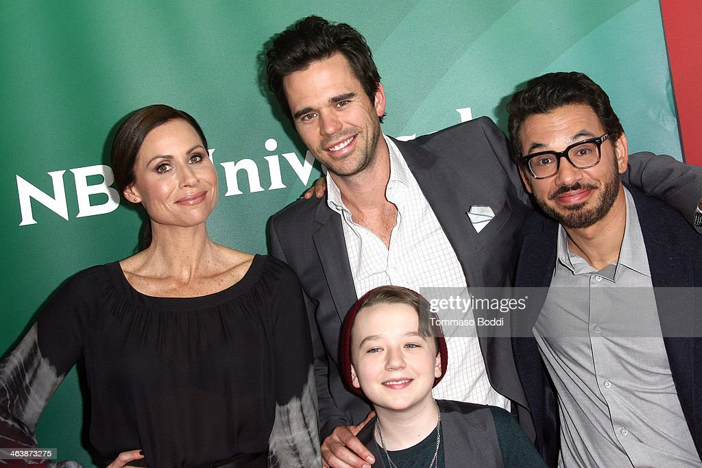 NBC/Universal 2014 TCA Winter Press Tour : Nachrichtenfoto