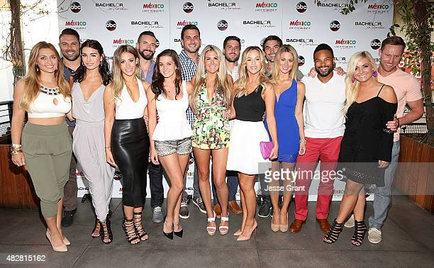 The cast of 'Bachelor in Paradise' Season 2 attend the 'Bachelor In Paradise' Returns To Mexico For Season 2 Premiere Party at Mixology101 on August...