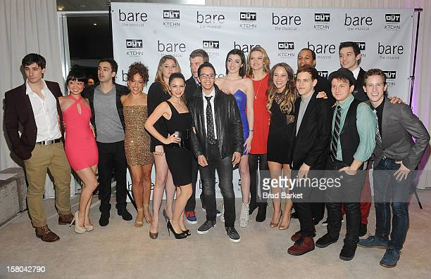 The Cast of BARE The Musical attend BARE The Musical Opening Night After Party at Out Hotel on December 9 2012 in New York City