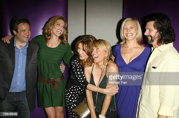 """The cast of """"Battlestar Galactica"""" arrives at the San Diego Comic Con 2007 at the San Diego Convention Center on July 28, 2007 in San Diego,..."""