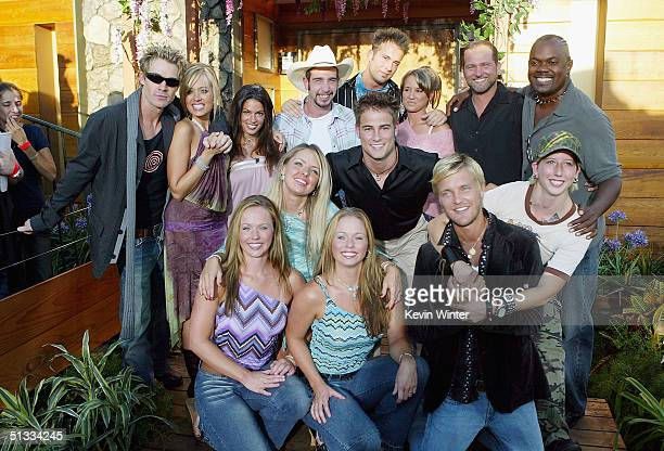The cast of Big Brother 5 Adria Klein Natalie Carroll Will Wikle Jennifer Nakomis Dedmon Karen O'NeilGanci and winner Drew Daniel Jase Wirey Holly...