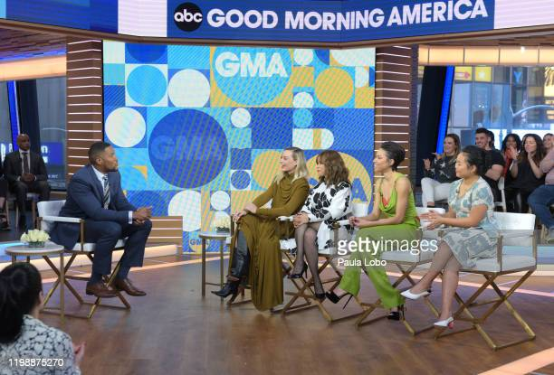 AMERICA The cast of Birds of Prey are guests on Good Morning America on Tuesday February 4 airing on ABC MICHAEL